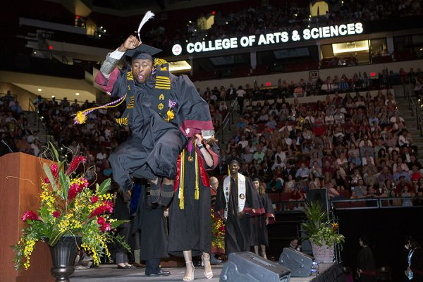 FSU Spring Commencement 2018 Friday afternoon ceremony. (FSU Photography Services)