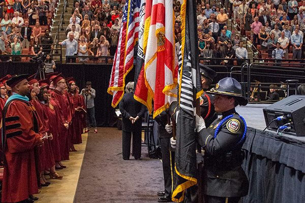FSU Spring Commencement 2018 Friday night ceremony. (FSU Photography Services)