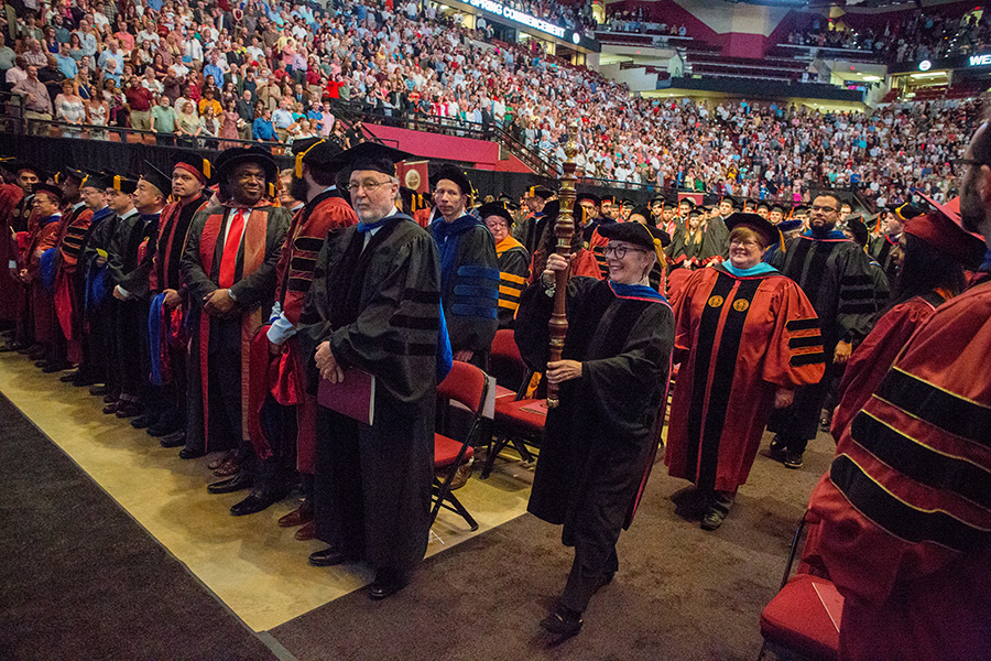 FSU Spring Commencement 2018 Saturday morning ceremony. (FSU Photography Services)
