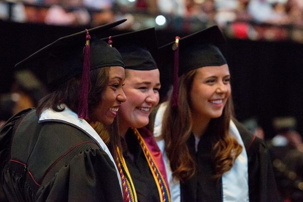 FSU Spring Commencement 2018 Saturday afternoon ceremony. (FSU Photography Services)