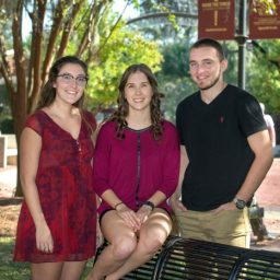 ARO Founders (Left to Right) Sophie Rottenberg, Amanda Schell and Will Boose. (Photo: UC Photography Services)