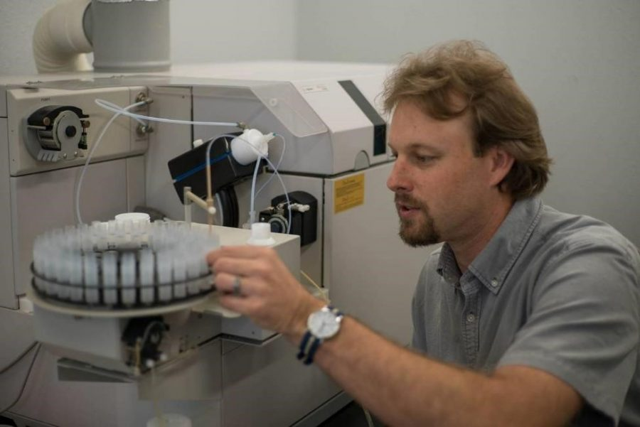 Jeremy Owens, an assistant professor in FSU's Department of Earth, Ocean and Atmospheric Science