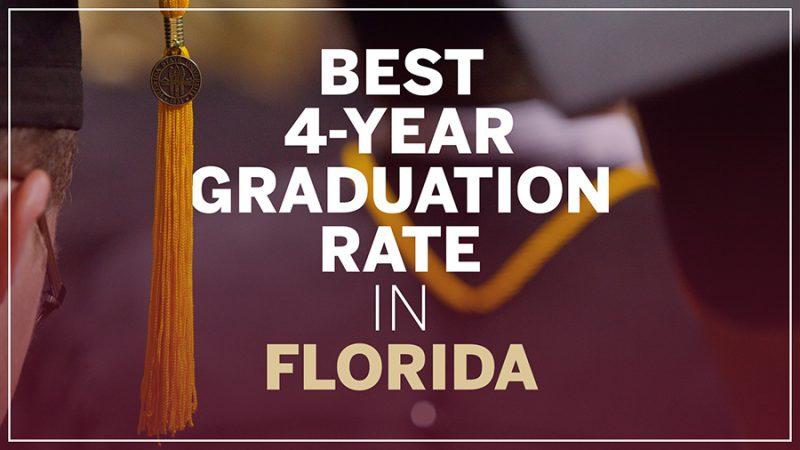 FSU boasts best four-year graduation rate in Florida