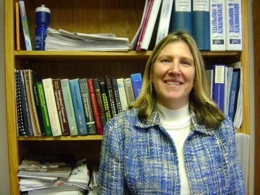 Julie Harrington, director of FSU's Center for Economic Forecasting and Analysis
