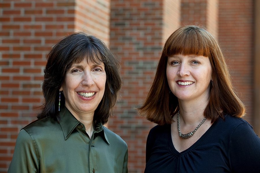 FSU Autism Institute Director Amy Wetherby and researcher Lindee Morgan