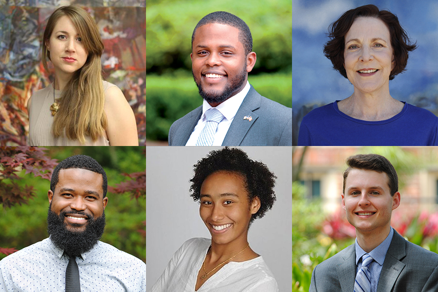 FSU's 2018-2019 recipients of Fulbright U.S. Student awards. Top row (from left): Christina Klein, Brian Menard and Jan-Ruth Mills. Bottom row (from left): Joshua Scriven, Mackenzie Teek and Austin Wyant. (Photo: Office of National Fellowships)