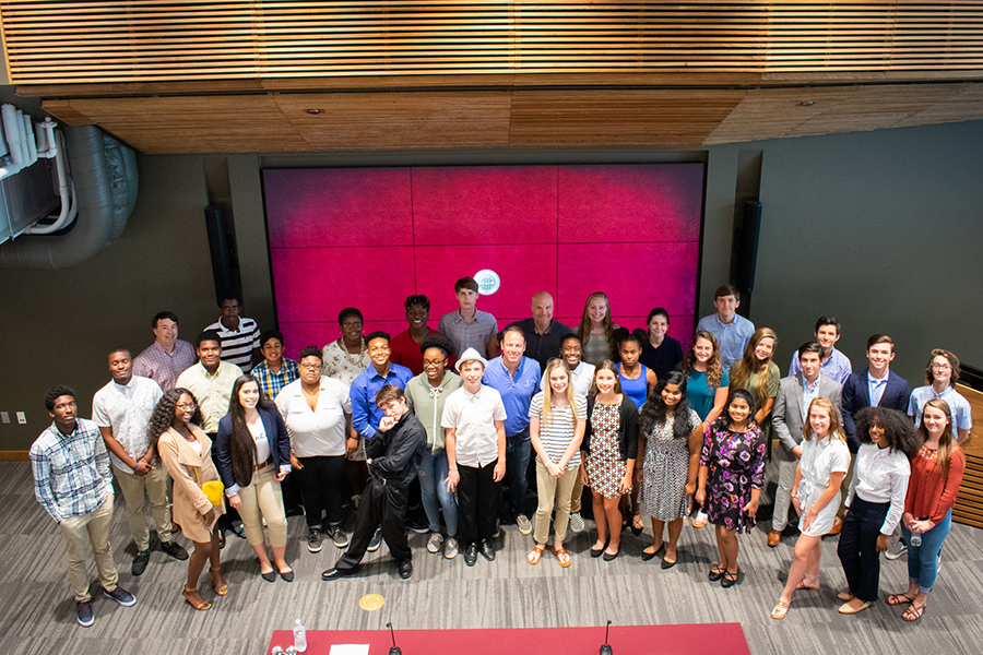 The Jim Moran School of Entrepreneurship hosted its first-ever camp for high school students in June.
