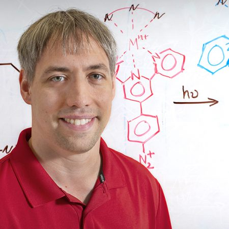 Kenneth Hanson, assistant professor of chemistry and biochemistry.