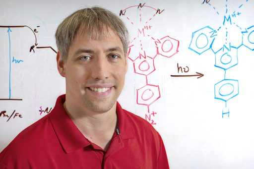 Kenneth Hanson, assistant professor of chemistry and biochemistry