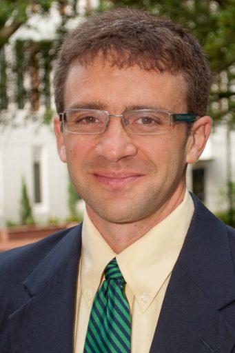 Michael Holmes, FSU's Jim Moran Associate Professor of Strategic Management