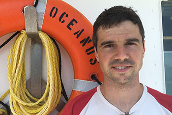 Mike Stukel, assistant professor of Earth, Ocean and Atmospheric Science