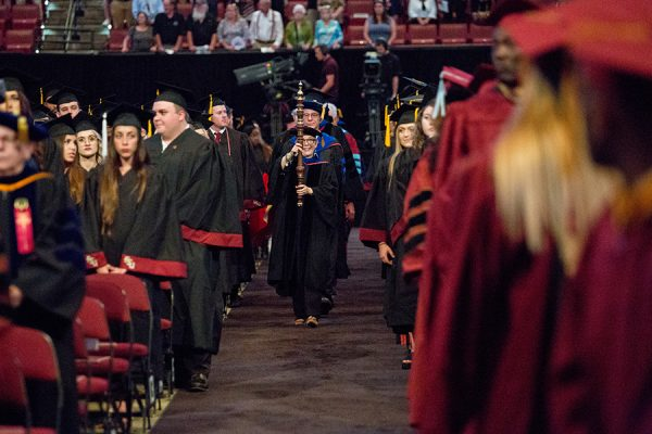 Florida State University summer commencement Friday, Aug. 3, and Saturday, Aug. 4, 2018, at the Donald L. Tucker Civic Center. (FSU Photography Services)