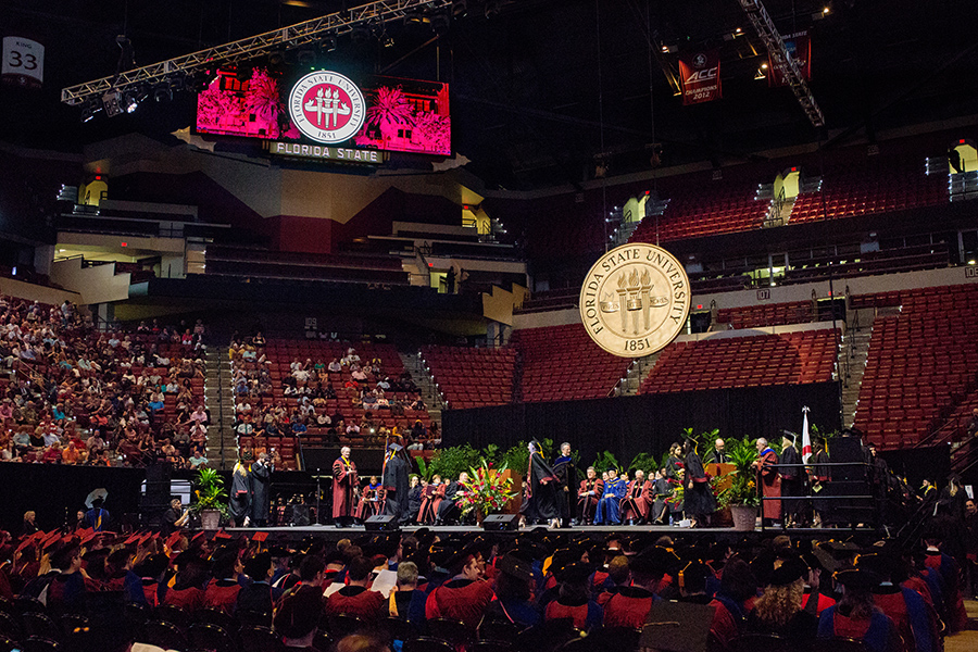 Florida State University held two summer ceremonies for the first time in school history.