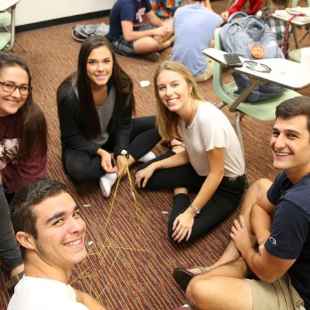 Freshman Interest Groups (FIG) are a way for new students to connect with others who share similar interests.