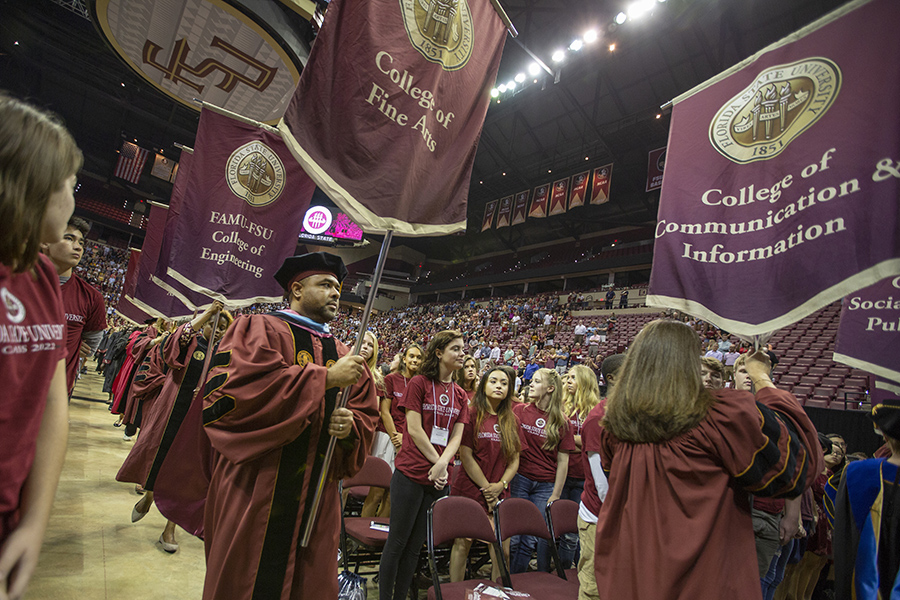 Thousands of students attended FSU New Student Convocation Sunday, Aug. 26, 2018. (FSU Photography Services)