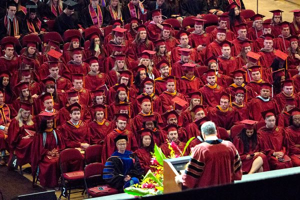 Florida State University will hold commencement ceremonies on Dec. 14 and Dec. 15 at the Donald L. Tucker Civic Center. (FSU Photography Services)