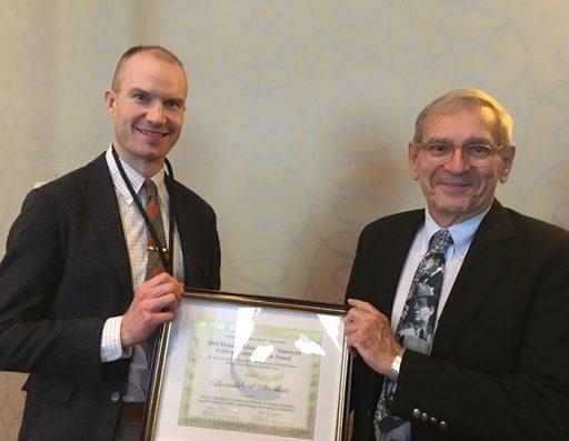 Assistant Professor Matthew T. Pietryka won the Heinz I. Eulau Award from the American Political Science Association.