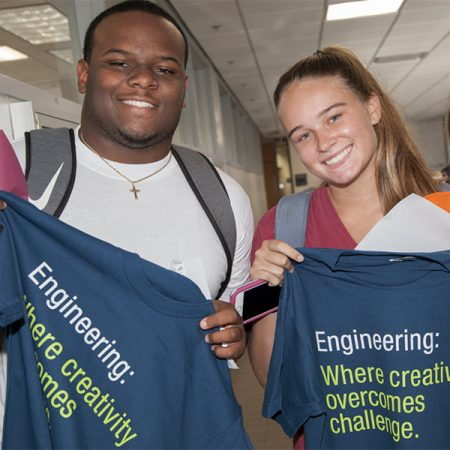More than 420 new FAMU-FSU College of Engineering students started classes this week.