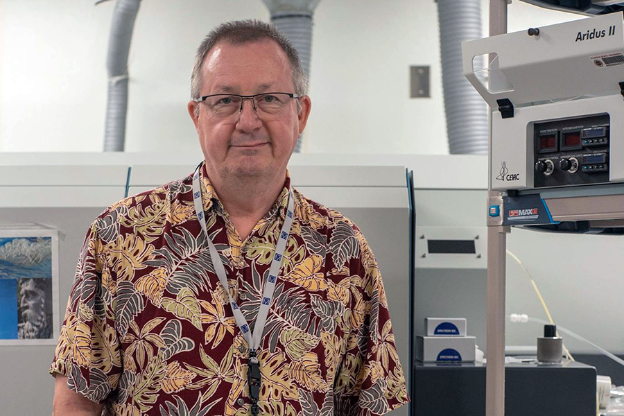 Professor Vincent Salters
