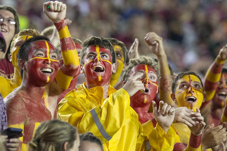 FSU-Samford football, Sept. 8, 2018. (FSU Photography Services)