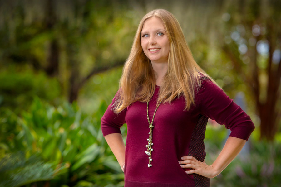 """FSU doctoral student Stacey Makhanova worked on the study for several years. """"It's fascinating to look at the connection between mind and body. Today, with all of the advances in neuroscience, we know there are a lot of interconnections."""" (FSU Photography Services)"""