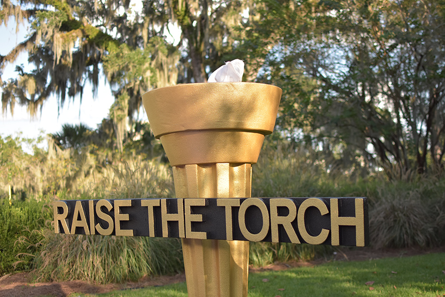 Florida State University's Raise the Torch campaign celebration Friday, Sept. 21, 2018. (Tracy Hamilton/FSU Foundation)