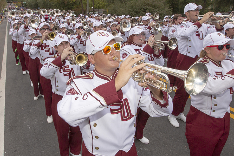 Florida State University Homecoming Parade Friday, Oct. 19, 2018. (FSU Photography Services)