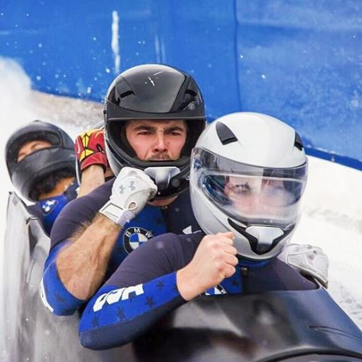 FSU student Josh Williamson is training for a spot on the USA Bobsled & Skeleton team.