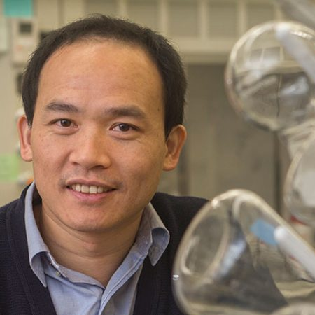 Biwu Ma, associate professor of chemistry and biochemistry