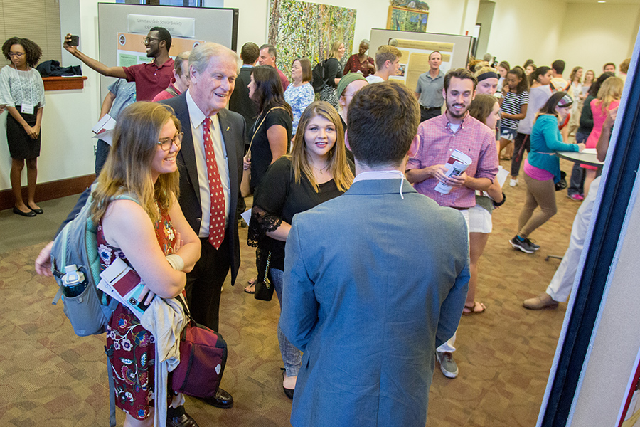 The 2018 President's Showcase of Undergraduate Research Monday, Oct. 1, 2018. (FSU Photography Services)