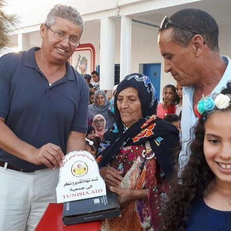 Professor of Civil and Environmental Engineering Tarek Abichou spent his summer working on a service project with TUNISIA-AID, organizing and stocking an elementary school library in Zarzis, a small town in Tunisia.