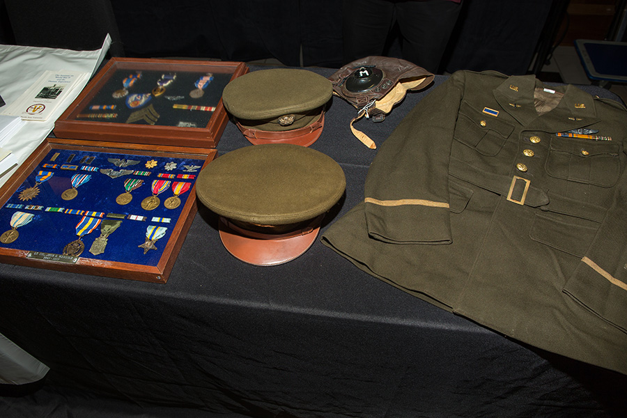 FSU's Institute on World War II and the Human Experience shares an exhibit at the 8th annual Veterans Film Showcase. (FSU Photography Services)