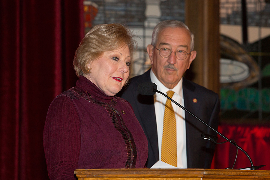 Nan and Mark Hillis