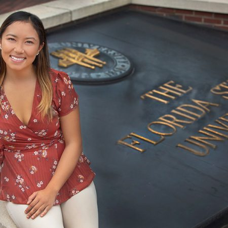 Samantha Kunin is the second FSU student in two years to earn the distinction of Rhodes Scholar finalist.