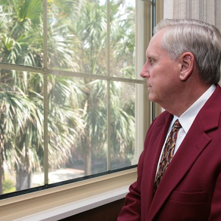 Wetherell served as FSU's president from 2003 to 2010.