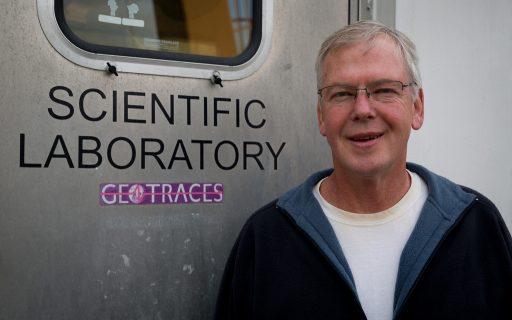 Professor of Oceanography William Landing. Credit: Tim Long