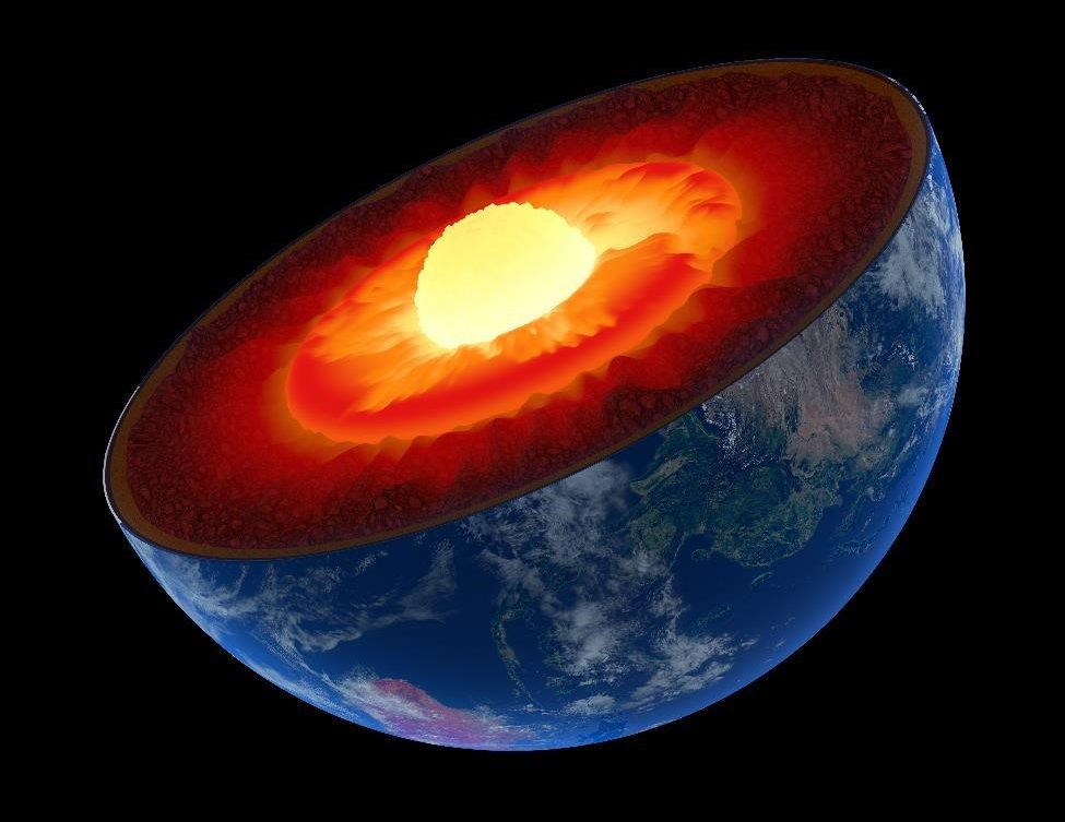 Researchers used cutting-edge supercomputing techniques to make a critical discovery about the chemical composition of the Earth's outer core. Credit: Argonne National Labs