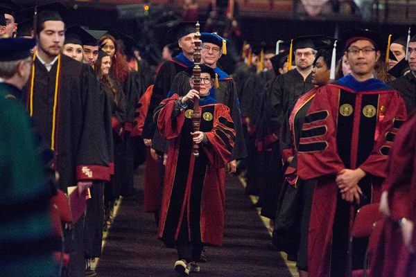 Florida State University fall commencement ceremony Dec. 14, 2018. (FSU Photography Services)
