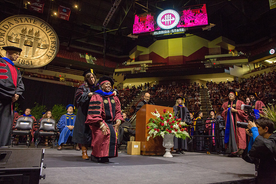 Florida State University fall commencement Dec. 14, 2018. (FSU Photography Services)