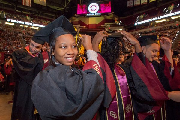 Florida State University fall commencement Dec. 15, 2018. (FSU Photography Services)