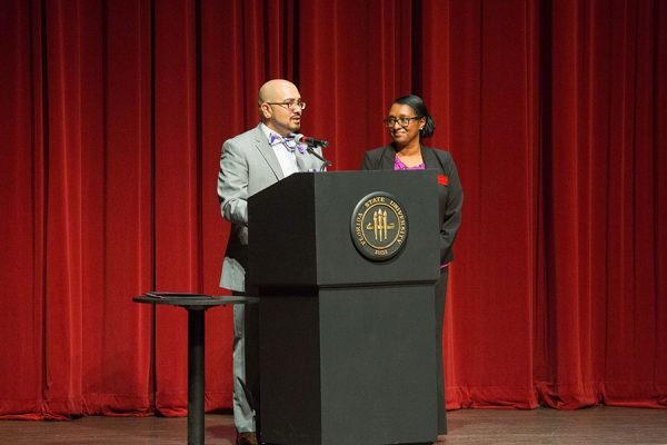 Faculty, staff, and administrators who completed the FSU Diversity & Inclusion Certificate were also recognized. (FSU Photo/Bill Lax)