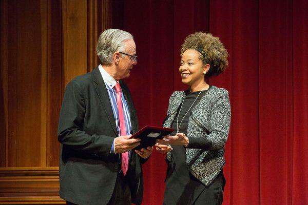 Donald J. Wiedner was the faculty recipient. (FSU Photo/Bill Lax)