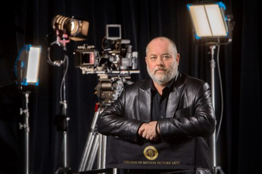 Reb Braddock has been part of the FSU film school for 30 years. He was named dean of the College of Motion Picture Arts in June 2017. (FSU Photography Services)