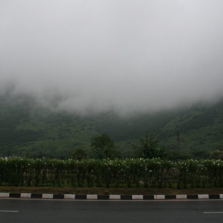 A mist settles over hills in the southern Indian state of Tamil Nadu during the Northeast Indian Monsoon season. Credit: Sara Vankm