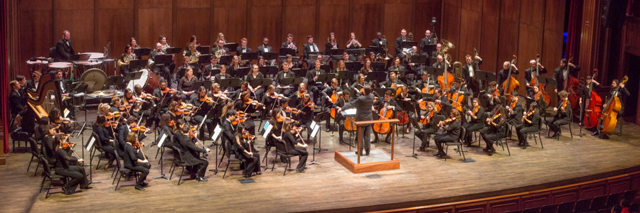 The University Symphony Orchestra will take the stage in Ruby Diamond Concert Hall at 3 p.m. Sunday, Feb. 17. (FSU College of Music)