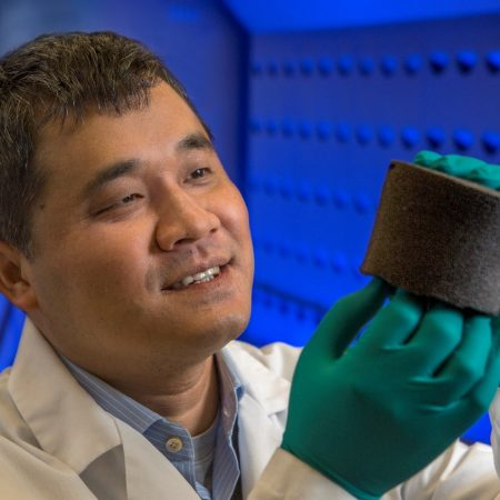 Changchun Zeng, an associate professor of engineering at the FAMU-FSU College of Engineering and a researcher at Florida State's High-Performance Materials Institute.