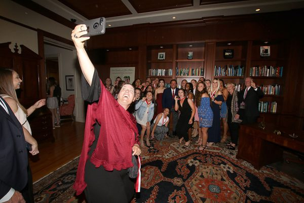 FSU's NCAA champion softball team visits the Florida Governor's Mansion Wednesday, March 13, 2019. (Photo: Ryals Lee)