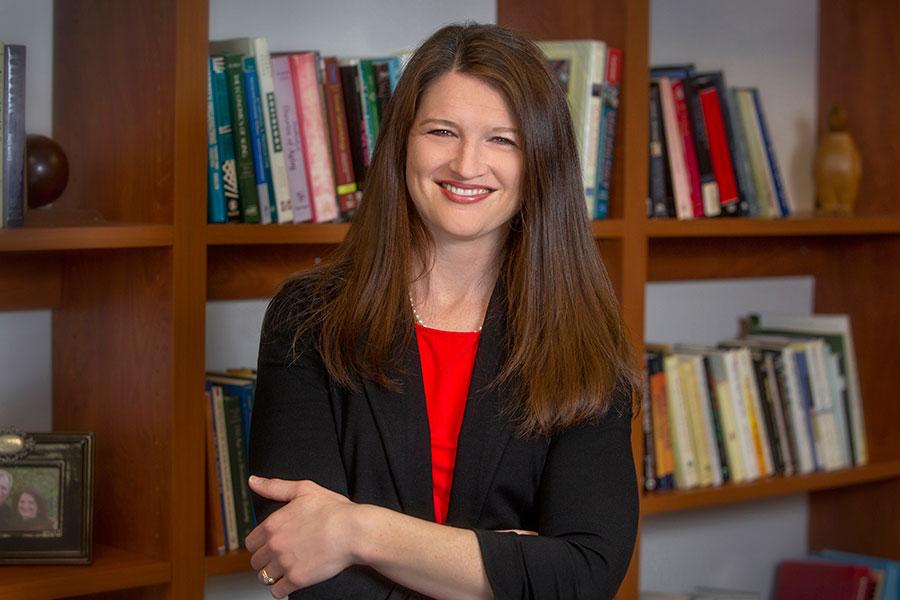 FSU Associate Professor of Sociology Dawn Carr. (FSU Photo/Bruce Palmer)