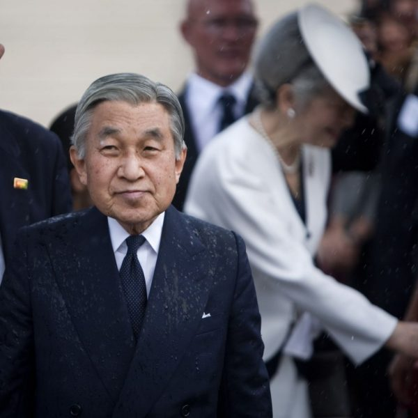 After a 30-year reign, the Japanese Emperor Akihito will abdicate on April 30.