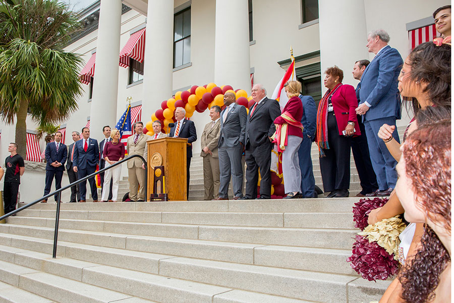 FSU Day at the Capitol April 9, 2019. (FSU Photography Services)